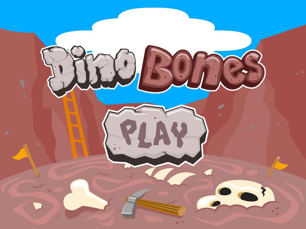 Dino Bones Rhyming Words