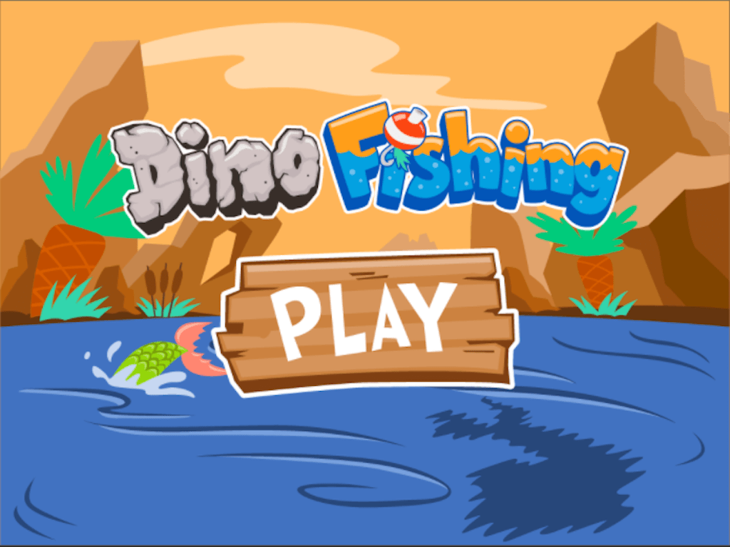 Dino Fishing Rounding Three Digit Numbers To The Nearest
