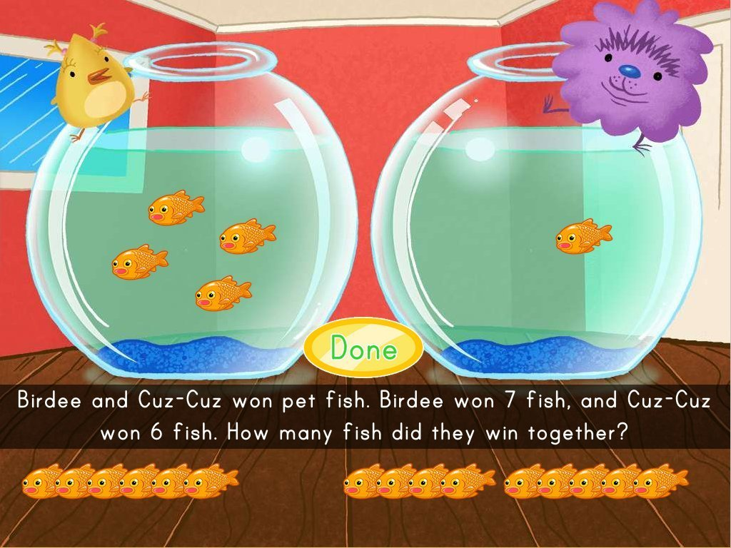 Adding Fish Game