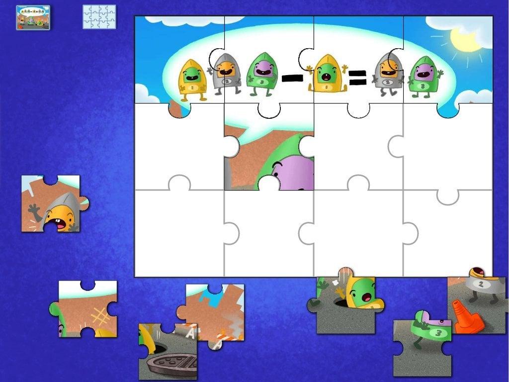 Muggo Subtraction Puzzle Game