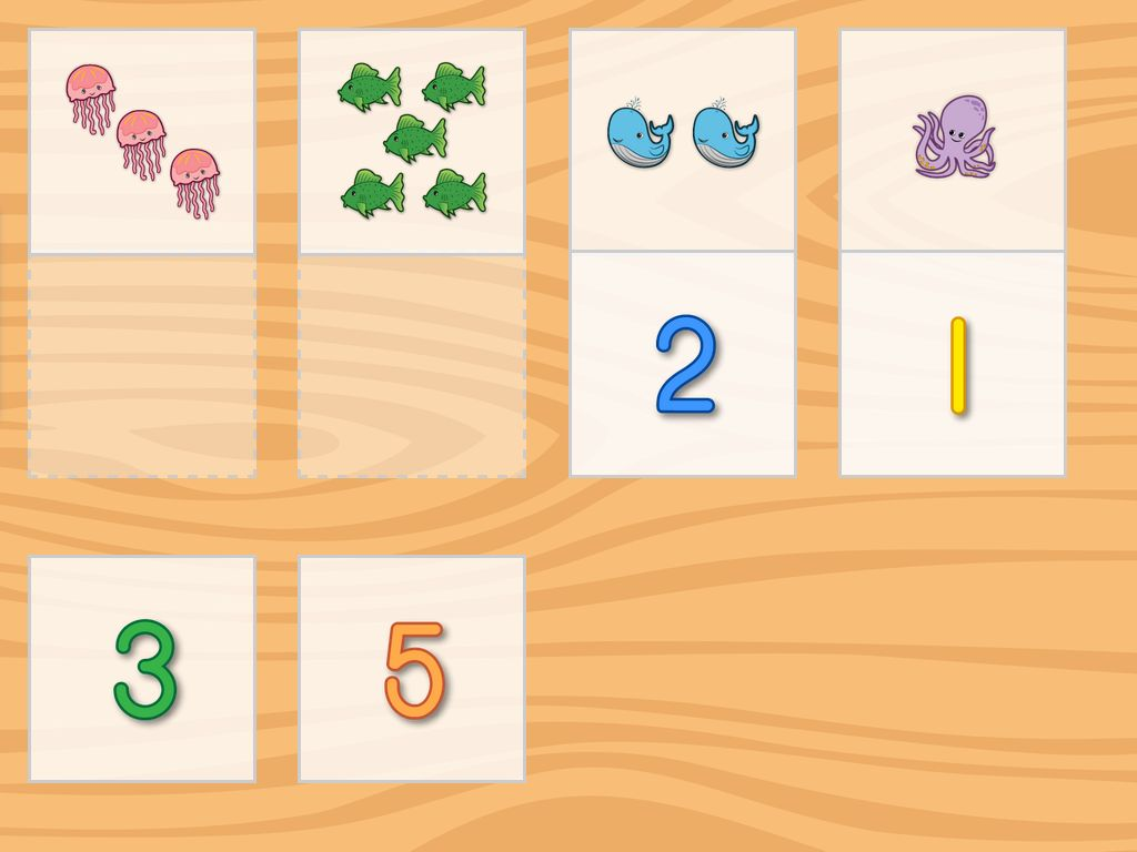 Preschool Worksheet Gallery Matching Number Matching