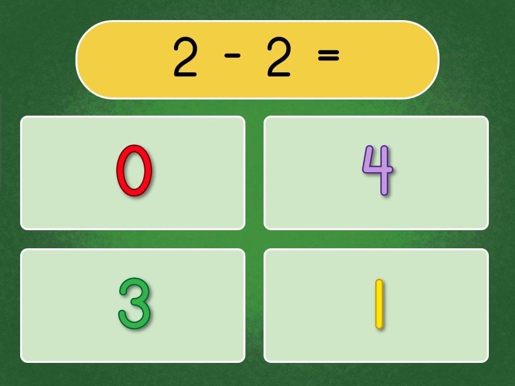 Spring Kindergarten Math Assessment Subtraction Within 20