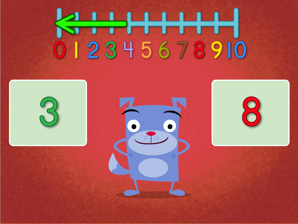 Number Words One To Five