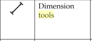 dimension tools