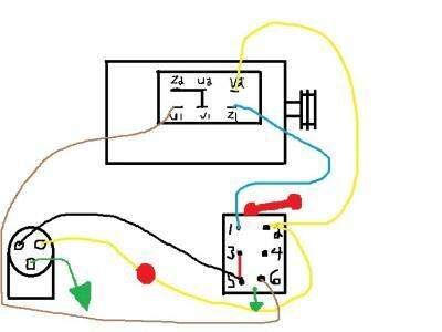 motor reversing switch wiring diagram  2003 ford fuse panel