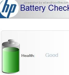 HP Laptop battery check, click here to read the full article