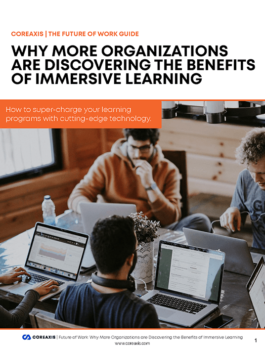 eBook Release: The Future of Work Guide: Why More Organizations Are Discovering The Benefits Of Immersive Learning