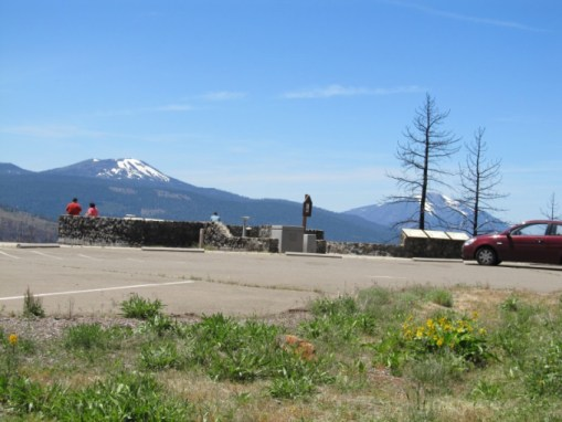 Hat Creek Rim Overlook Sierra Nevada Geotourism