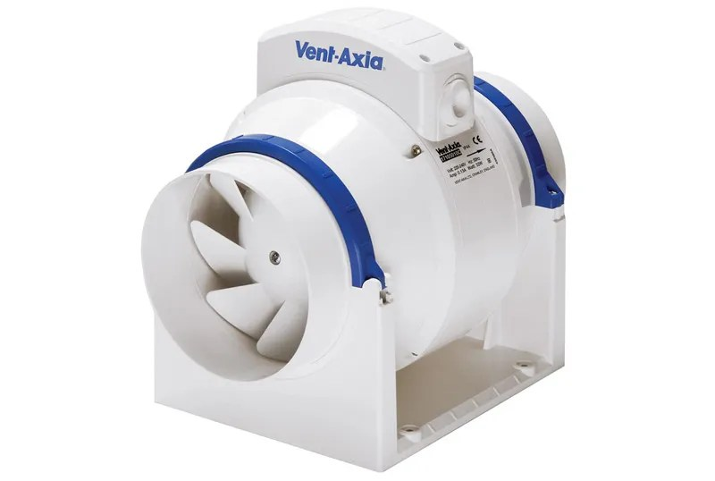 vent axia acm125 5 inch inline extractor fan 17105010