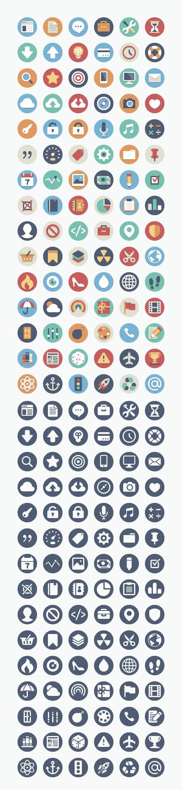 Sample of free icons you can download