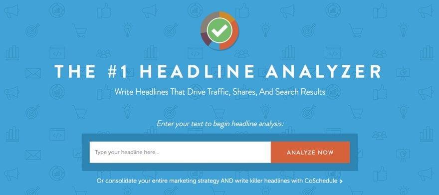 Content Schedule Headline Analyzer