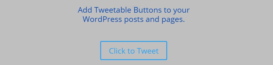 Click to Tweet Button