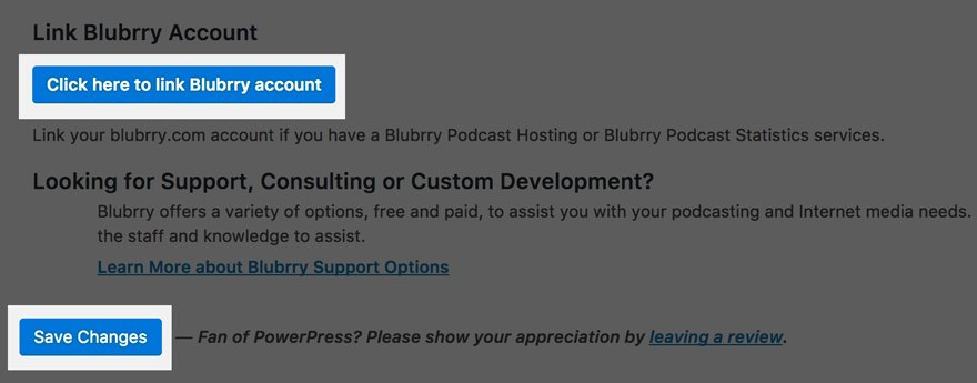 Blubrry Powerpress Podcasting