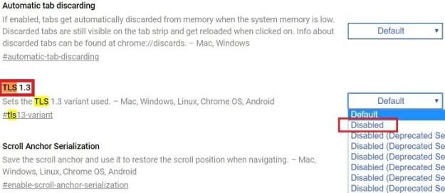 "Imagen - Corrige el error ""ERR_SSL_VERSION_INTERFERENCE"" en Chrome"