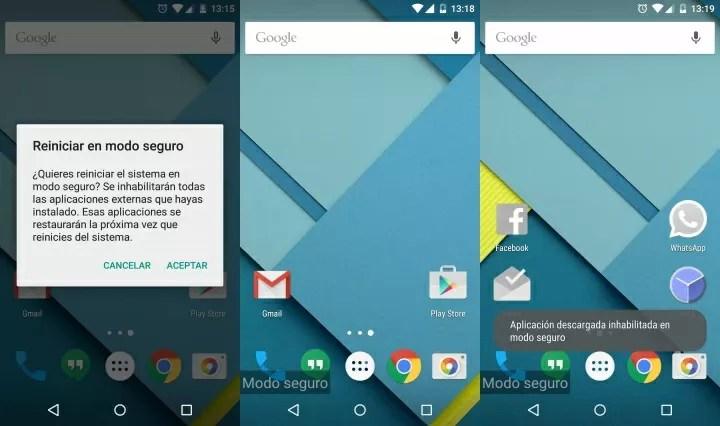 Imagen - Cómo iniciar Android en modo seguro y para qué sirve