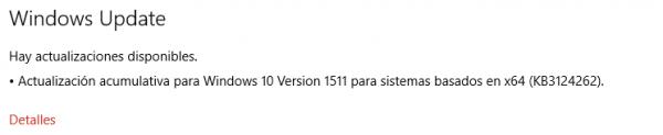 Imagen - Microsoft lanza la actualización KB3124262 para Windows 10