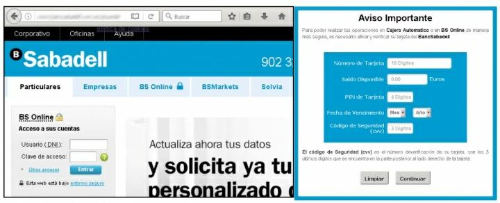 Imagen - Detectados correos falsos que se hacen pasar por Banco Sabadell para robar datos