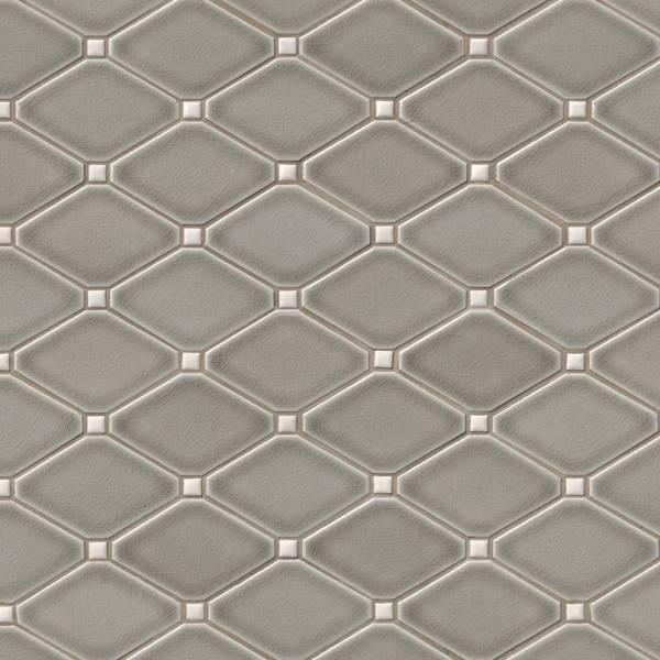 msi stone mosaic tile dove gray diamond