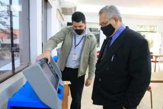 Se tomó la decisión de utilizar las máquinas de votación en las elecciones del Consejo de la Magistratura. Foto: TSJE