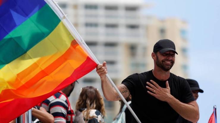 """Ricky Martin: """"Rescatamos nuestra isla, rescatamos nuestro país"""""""