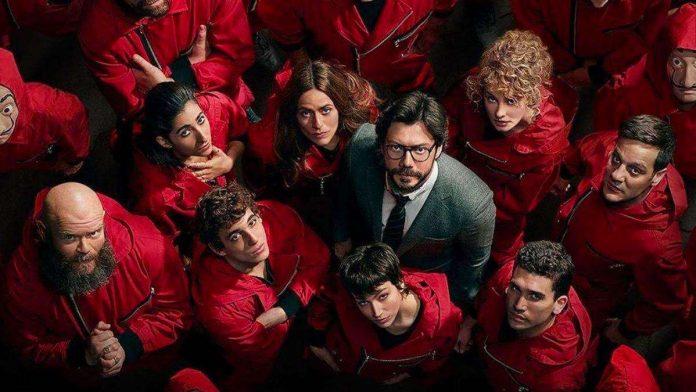 Quinta temporada La casa de papel Netflix