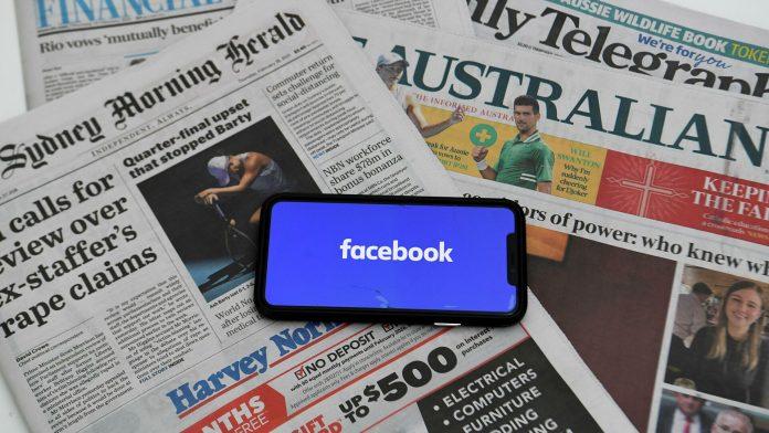 Australia ley Google Facebook