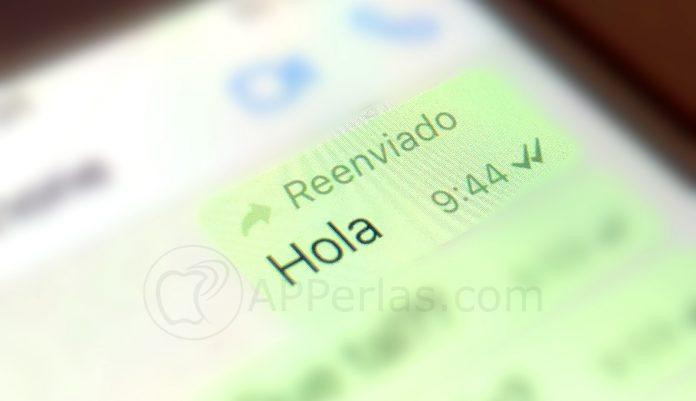 reenviado WhatsApp