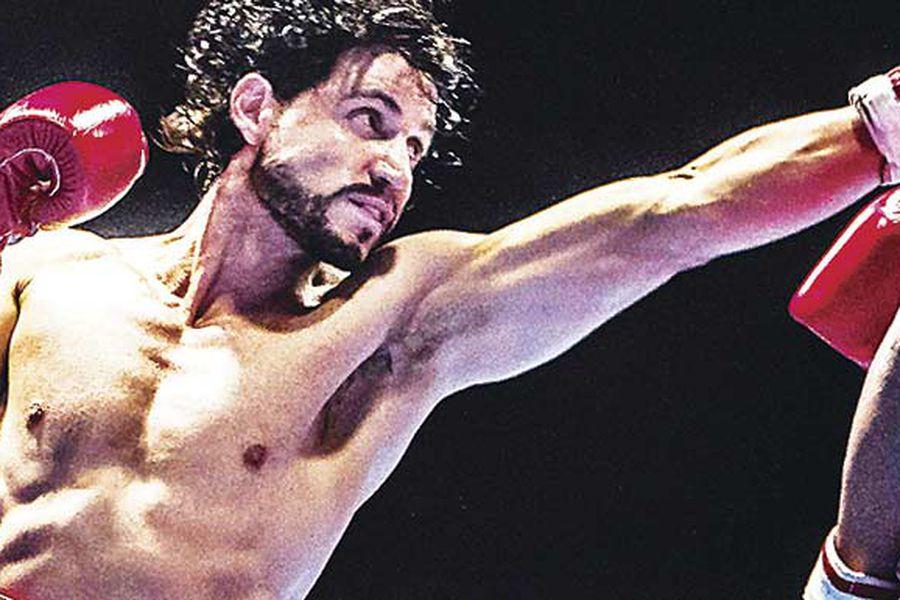 Otro gran protagonico de Ramirez fue como Roberto Duran en Manos de Piedra Foto Archivo