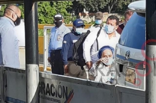 ¿Qué hacía Piedad Córdoba de visita en Venezuela?