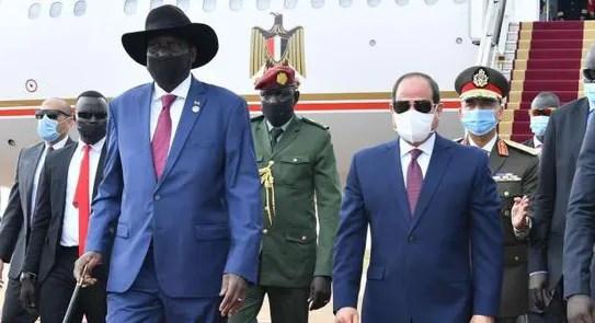 تفاصيل زيارة الرئيس السيسي التاريخية لجنوب السودان - العرب والعالم - الوطن