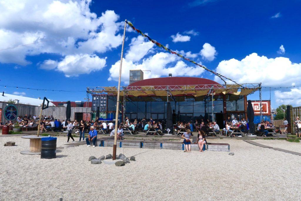 Pllek Beach Cafe Amsterdam Noord Exterior
