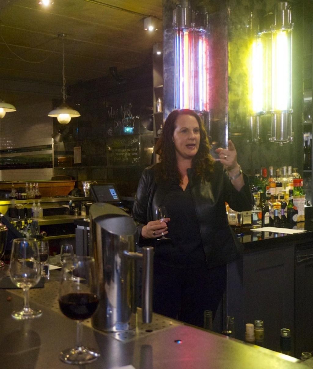 Michelle Cherutti- Kowal Hixter Bankside Bar Wine Tasting London Emma Inks Blog