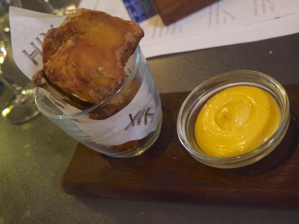 Chicken Hixter Bankside Bar Wine Tasting London Emma Inks Blog