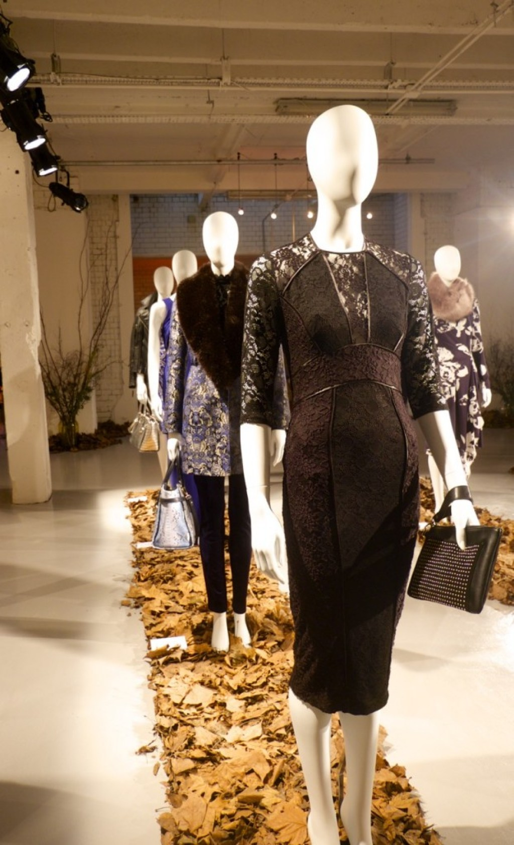 Outfit, Designer, Fashion, Debenhams, British, Black, Lace