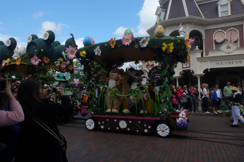 Emma Inks Disneyland Theme Park Paris France Parade