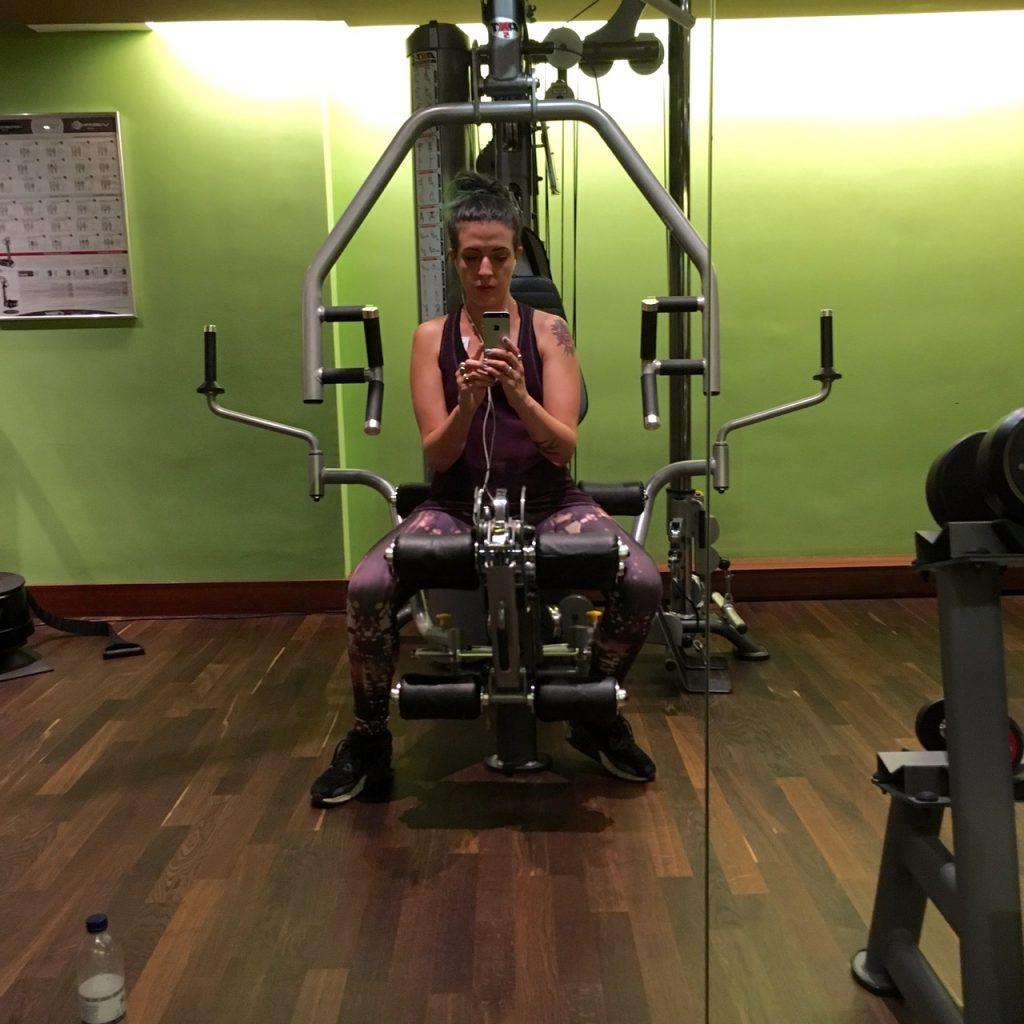 Gym Selfie Vienna