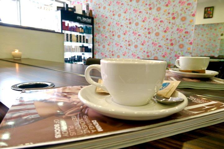 Coffee at LukeJacob Salon East London