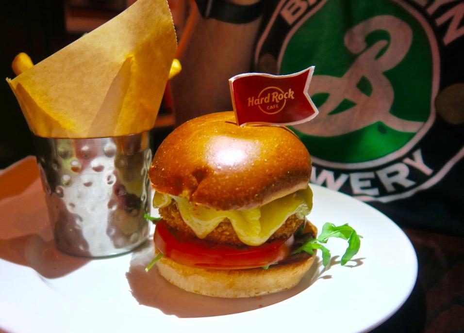 Hard Rock London Vegetarian Burger