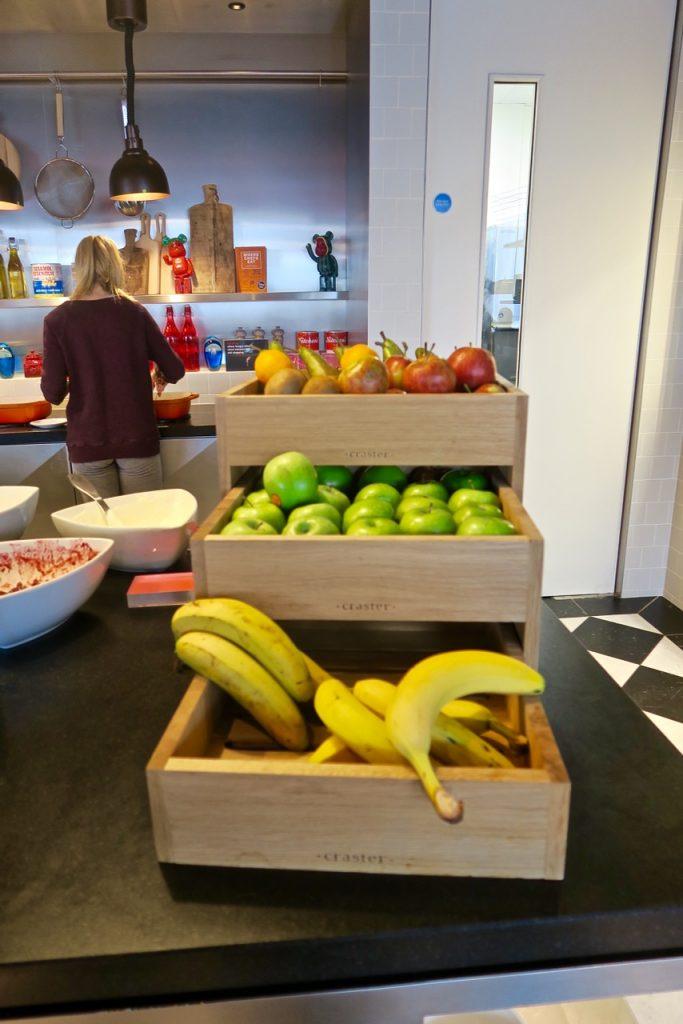 CitizenM Shoreditch Breakfast Fruit