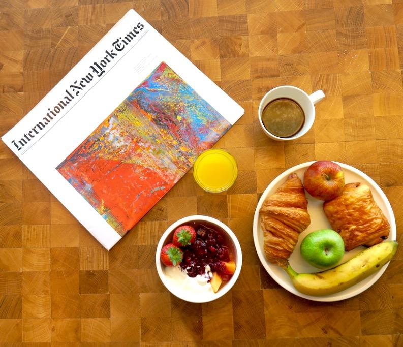 CitizenM Shoreditch breakfast