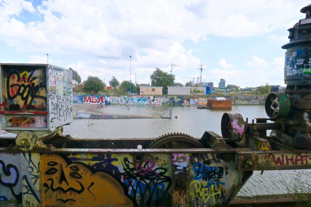 Amsterdam Noord View street art Emma Inks blog