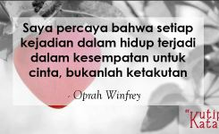 Kata Kata Mutiara Kehidupan Oprah Winfrey