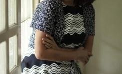 Gaun Rancangan Stella Rissa Yang Dipakai Untuk Premier Film Aisan