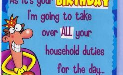 Funny Happy Birthday Wishes For Husbands