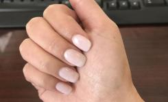 Coats Of Funny Bunny And  Coat Of Bubble Bath Opi Gel On Natural Nails