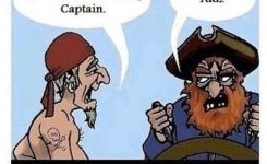 Funny Pirate Jokes About Grammar