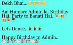 Whatsapp Admin Funny Hindi English Birthday Messages And Wishes