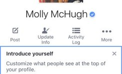 Your Picture Now Sits In The Middle And Youll See An Invitation To Introduce Yourself With A New Short Bio Molly Mchugh