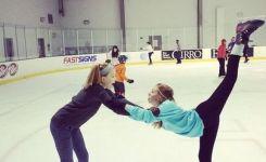 Cute Ice Skating Friends P O Idea