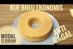 Cara Memasak Resep kue bolu ekonomis anti gagal